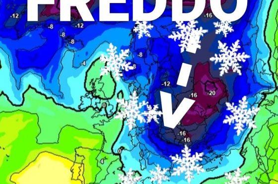Zone dove farà più freddo?