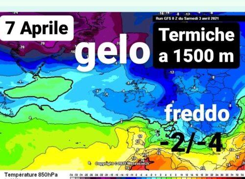 Freddo sarà ancora più intenso entro il 10 Aprile