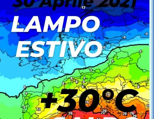 CALDO estivo in arrivo, oltre i 30° in Sicilia