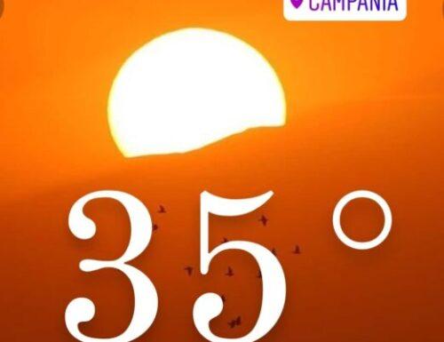 CALDO moderato in arrivo, fino a 35°
